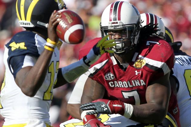 Outback Bowl 2013: South Carolina Standouts Who Carried Gamecocks to Victory
