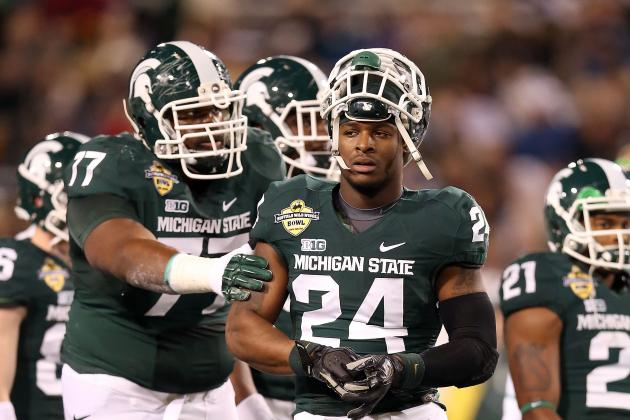 Report: Michigan State's Le'Veon Bell Meeting with Agents Soon, Headed to NFL