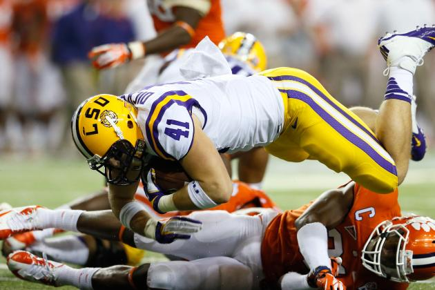 LSU Offensive Line Progress Stalls out in Chick-Fil-a Bowl Loss
