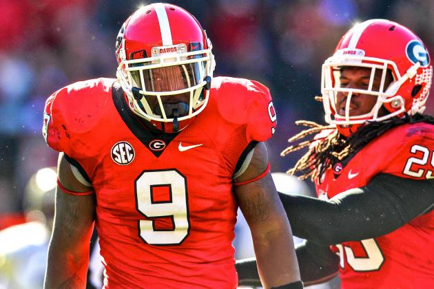 Georgia LB Alec Ogletree Officially Enters NFL Draft