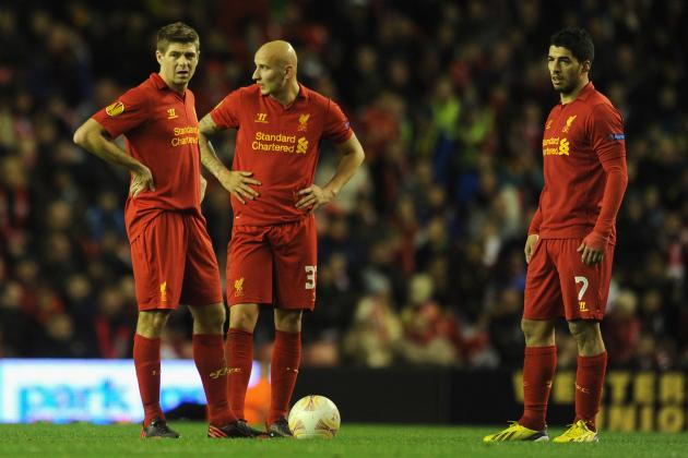 Liverpool: Why Brendan Rodgers Needs to Resolve Reds' Midfield Issues in 2013