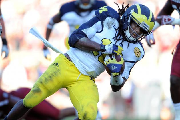 2013 Outback Bowl: Misuse of Robinson Costs Michigan Win vs. South Carolina