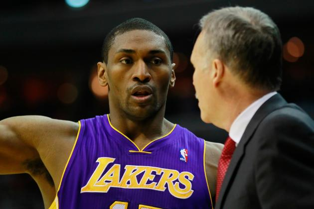 Metta World Peace Predicts Lakers Will Win 62 Games This Season...Seriously