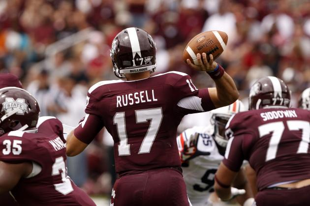 Mississippi State vs. Northwestern: Reckless Play from QB Russell Costs Bulldogs