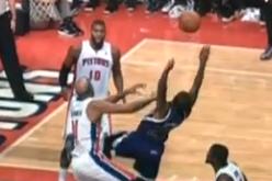 Pistons' Villanueva Ejected for Flagrant Foul on Kings' Thomas
