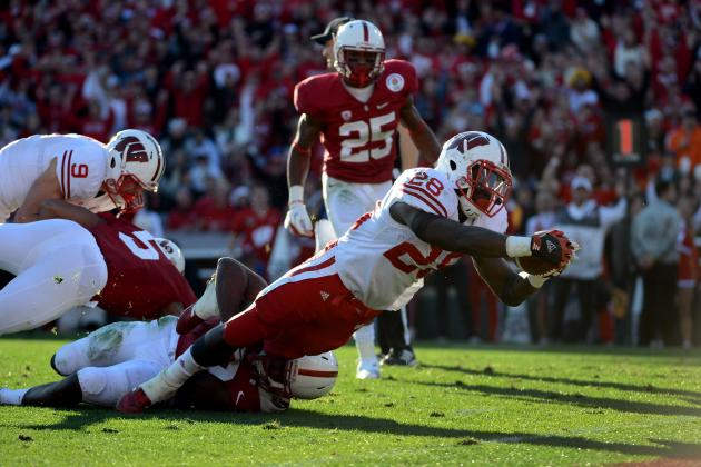 Rose Bowl 2013: Will Montee Ball or Stepfan Taylor Be Better NFL RB?