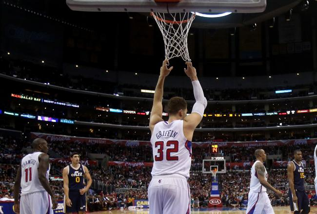 Blake Griffin was invisible in the first half.