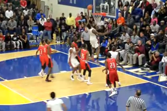 VIDEO: Arizona Commit Rondae Jefferson Throws Alley-Oop to Himself