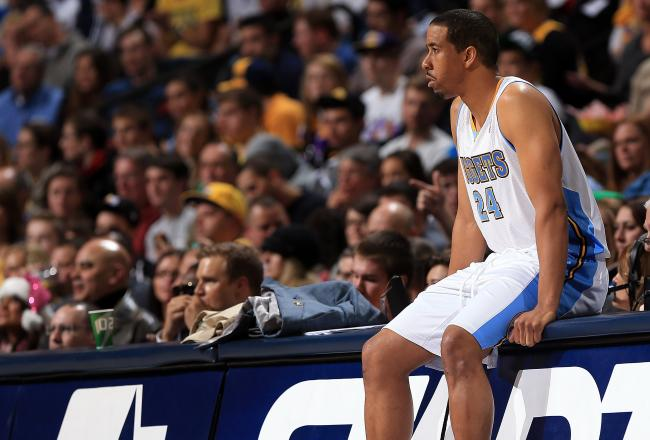 12 points and 12 assists for Andre Miller tonight.
