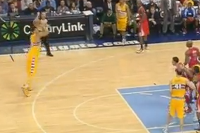 JaVale Hits First Career 3-Pointer