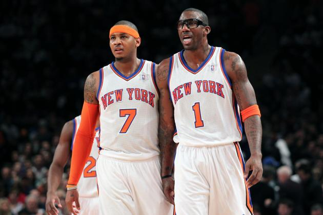 Carmelo Anthony: Knicks Star Will Struggle Due to Amar'e Stoudemire's Return