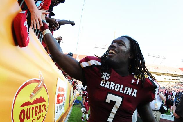 Jadeveon Clowney: South Carolina Football Star's Hit One for the Ages