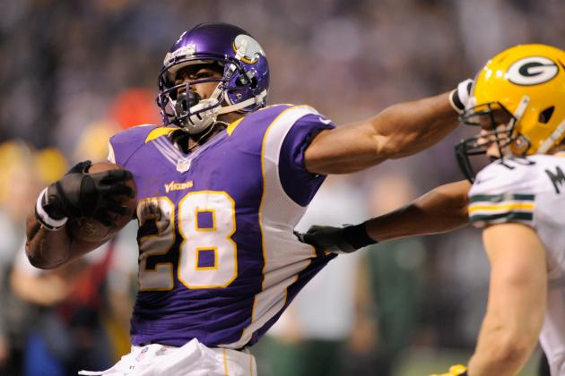2012-13 NFL Playoffs: Wild Card Round Fantasy Running Back Rankings