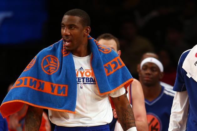 Woodson: Amar'e Coming off Knicks Bench for Now