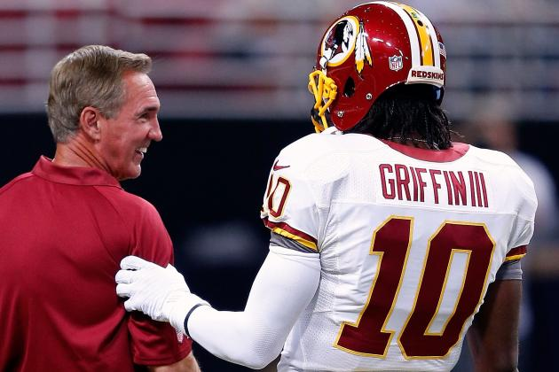 Shanahan Doesn't Sound Too Worried About RG3 Knee