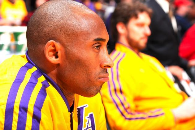 Kobe Bryant Tears into LA Lakers Very Real Age Problem