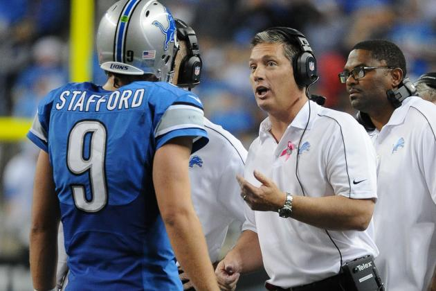Jim Schwartz: Lions' Matthew Stafford's Mechanics OK