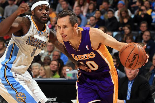 Steve Nash Says Lakers 'Running out of Time'