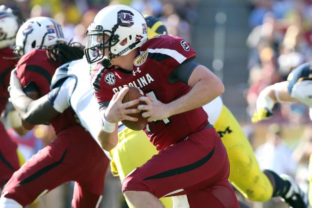 Does South Carolina Have a QB Controversy in Wake of Outback Bowl Win?