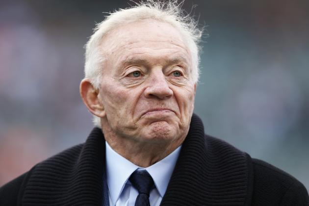 Jerry Jones: Cowboys in for 'Uncomfortable' Offseason