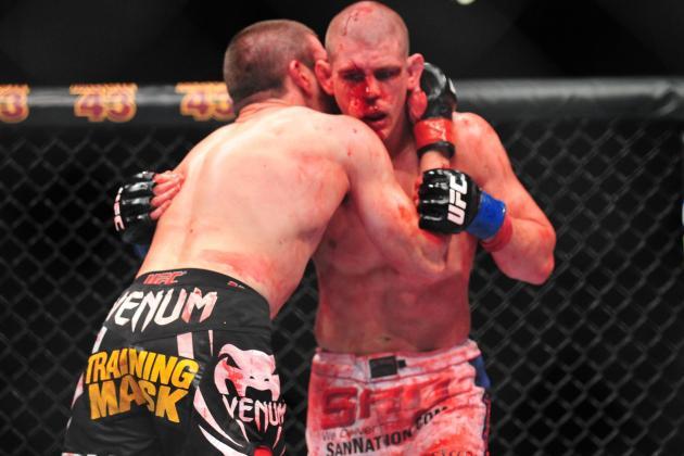 UFC 155 Medical Suspensions