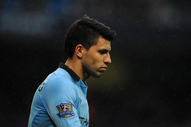 Sergio Aguero: Striker's Injury Could Shake Manchester City from Scoring Drought
