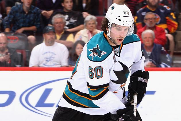 Report: Sharks' Demers to Miss a Minimum of Three Weeks (Update: Try4-6)