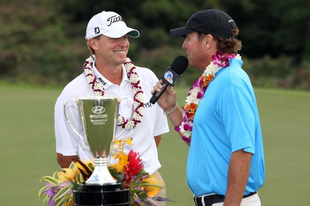 PGA Tour Pros Ease into 2013 with Zip-Lining and Whale-Watching in Maui