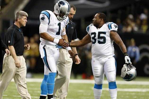 Inside the Panthers: X-Rays on Newton's Ribs, Ankle Reveal No Fractures