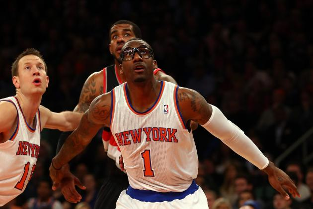 Knicks' Amar'e Promises to Improve After Never Being 'taught Defense'