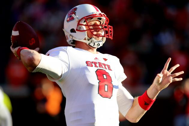 2013 NFL Draft: The Case for Taking Mike Glennon with the First Overall Pick