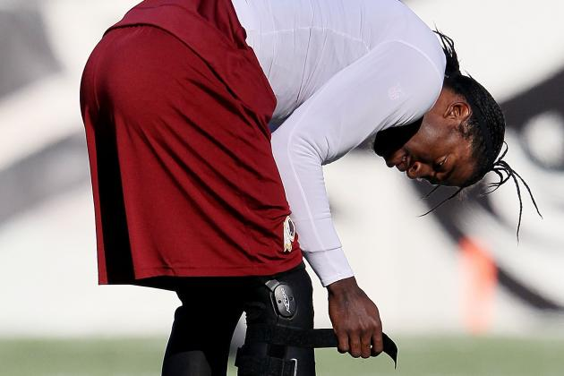 RG3 Report: Knee Improving