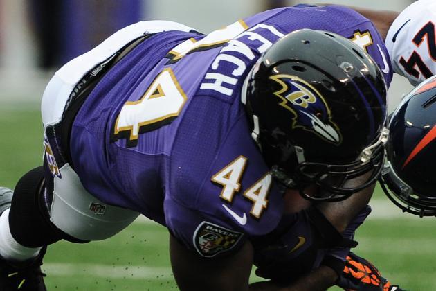 Ravens' Vonta Leach, Marshal Yanda feeling better