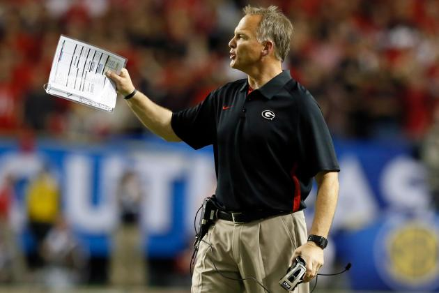 Mark Richt: Rebuilding Dogs' Defense Doesn't Mean Setback in 2013