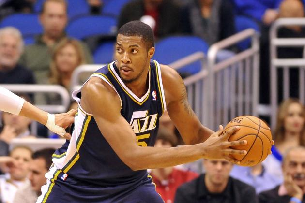 Quote of the Day: Derrick Favors Not Kevin Love's Biggest Fan