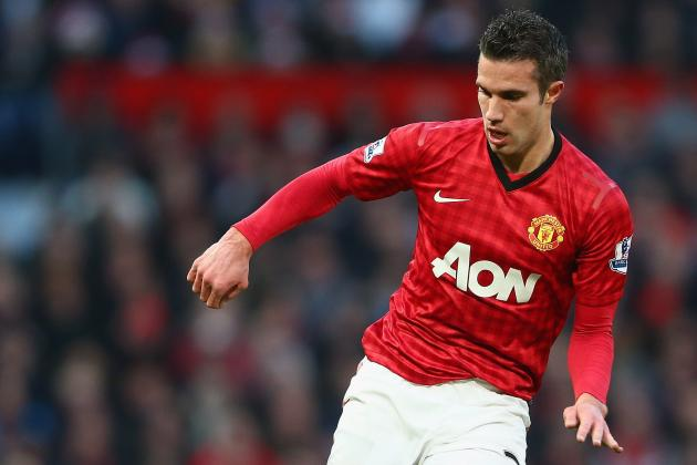 Van Persie out on His Own: United Striker Is Premier League's Sharpest Shooter