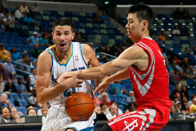 New Orleans Hornets vs. Houston Rockets: Live Score, Results and Game Highlights