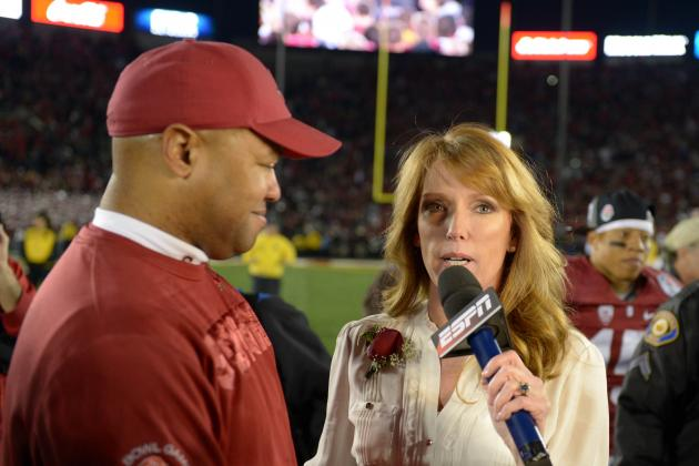 Heather Cox: ESPN Reporter Not to Blame for Rose Bowl Interview Mishap