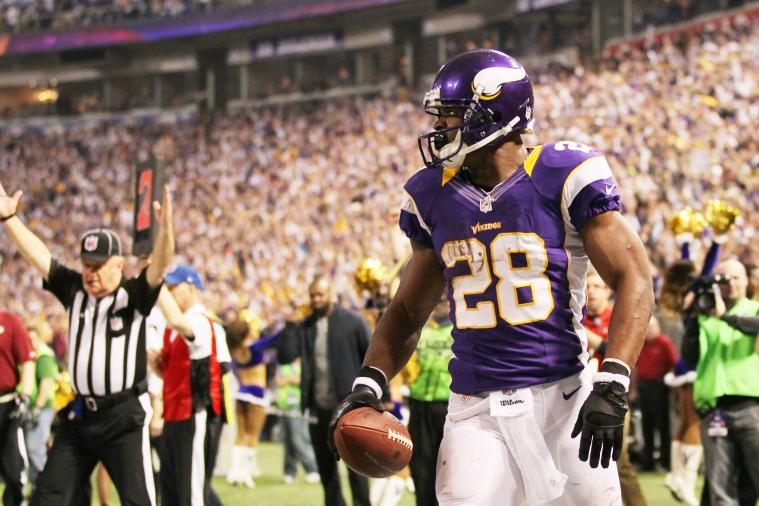 Adrian Peterson to Return Kicks for Minnesota Vikings?