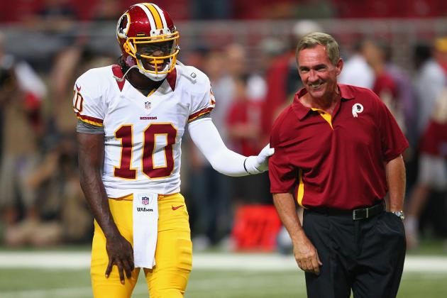 Washington Redskins: RGIII Surprises Coach Shanahan at Press Conference