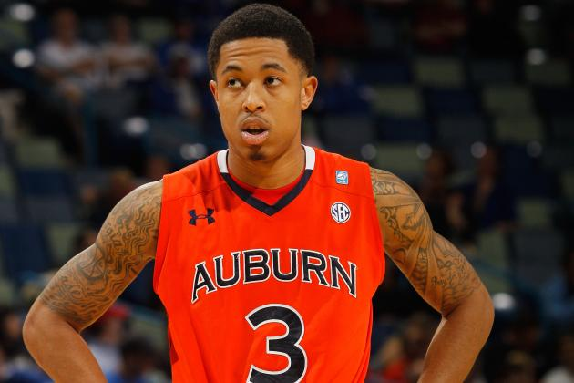 Auburn Guard Chris Denson to Miss 4-6 Weeks Due to Stress Fracture in His Foot