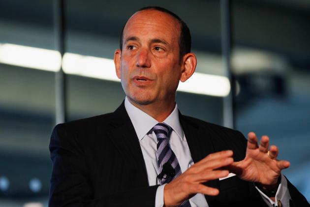 Don Garber, MLS Commissioner, Talks About Sepp Blatter, FIFA