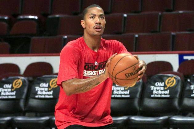 Derrick Rose: What to Make of Chicago Bulls PG's First Road Trip Since Injury