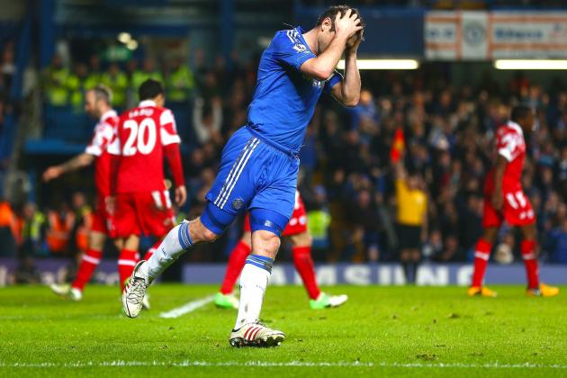 Chelsea FC: Without Mata for 75 Minutes, Blues Slump to Home Loss against QPR