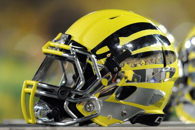 Oregon Fiesta Bowl Helmets 2013: Breaking Down Ducks' Latest Fashion Statement