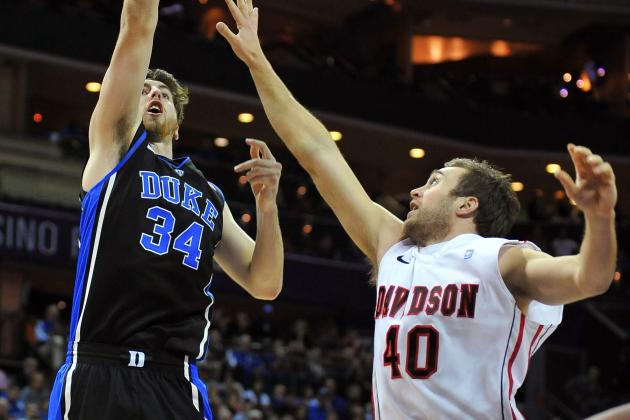 No. 1 Duke Pull Away from Davidson in 2nd Half