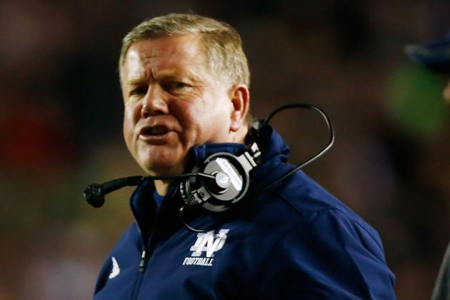 Brian Kelly Attracting NFL Attention