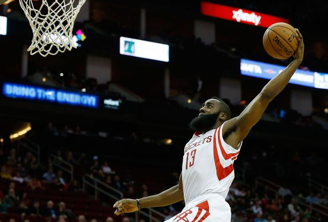 Harden led the way for a sputtering Rockets offense, finishing with 31 points and seven dimes
