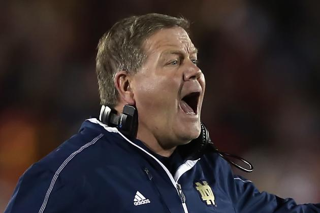 Brian Kelly Named Camp Coach of the Year