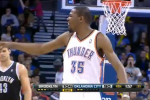 Durant Drops F-Bomb at Ref, Gets Ejected for First Time
